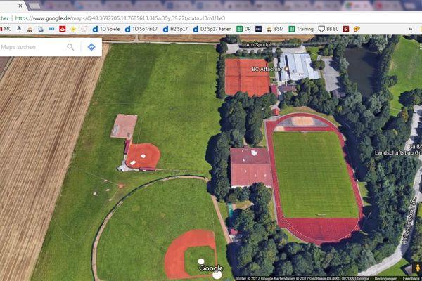 Grizzlies Ballpark - Baseballfeld